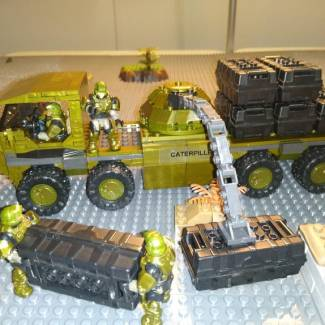 Image of: UNSC Caterpillar MK2 custom