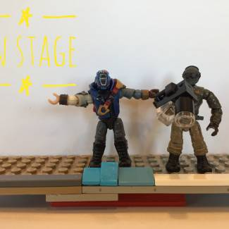 Image of: On stage