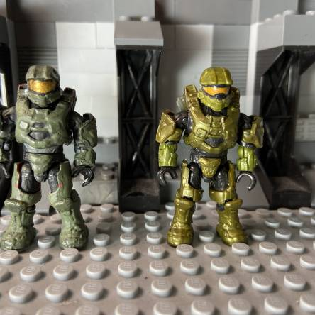 Image of: Halo 5 master chief / who did better