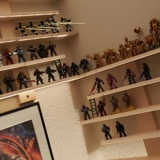 Image of: Reworking figure wall