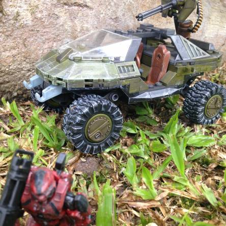 Custom Warthog Paint Job
