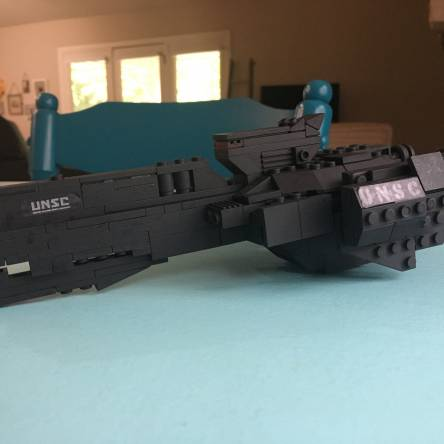 UNSC Paris-class heavy frigate (Out of boredom and random pieces)