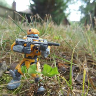 Image of: A small custom spartan