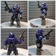 Halo Reach Custom Spartan Blue Team