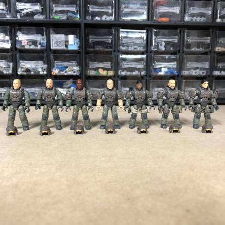 Closer Look: Halo UNSC Marines