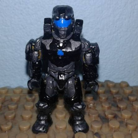 Spartan based in Gears of War Onyx Guard