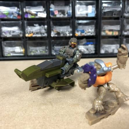Closer Look: Halo Mongoose 2in1 Build Scout Speeder