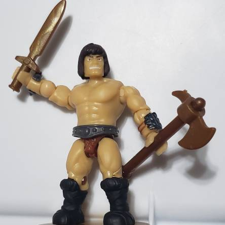 MCX MotU - Custom Savage He-Man