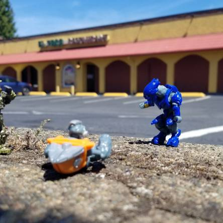 Master Chief gets a burrito