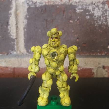 1980s Crystar Lava Dragon Warrior custom figure