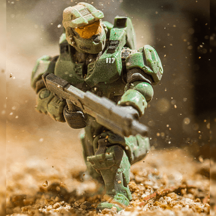 Call me Master Chief. Stay close to me, I'm your best chance for survival.