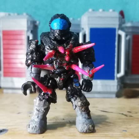 Custom spartan injured