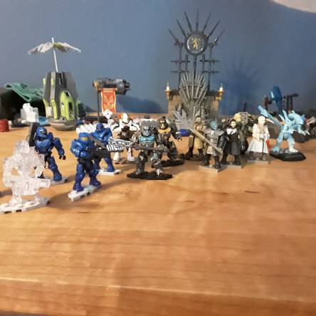 My Mega construx collection so far