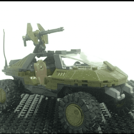Warthog build Stop Motion