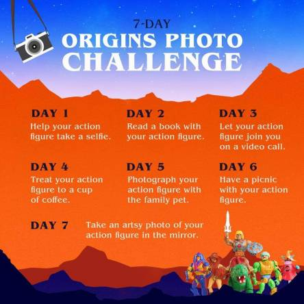 Origins Photo Challenge Day 1!