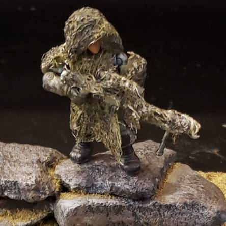 UNSC army Sniper