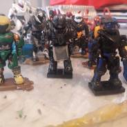 Some repaints, changes and a New Jeager