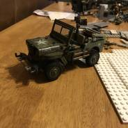 customized wwii jeep W.I.P