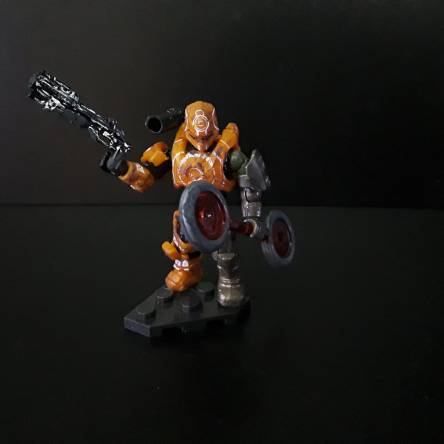 Custom spartan Bounty hunter