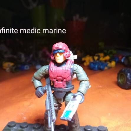 custom: infinite medic marine
