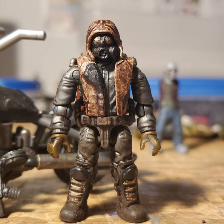Image of: Custom Fallout Inspired Apocalypse Survivor