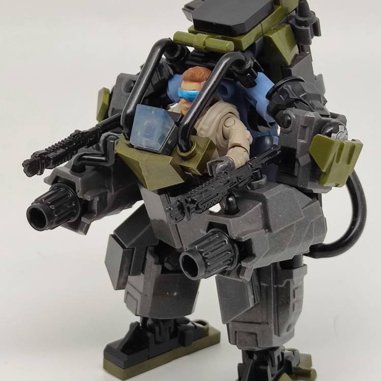 Image of: Light Assault Exoskeleton