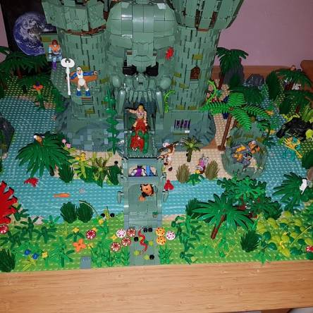 Can heman defend the castle?
