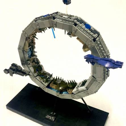 Complete Halo Ring