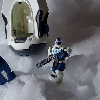 Ice Breaker 1 reporting from ice planet