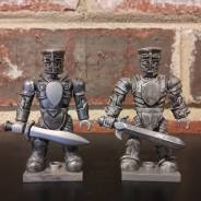 Mega Bloks Construx King Arthur custom Knight figures