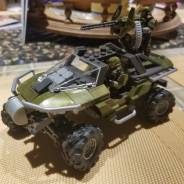 Warthog with steering