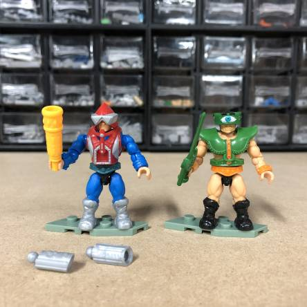 Masters of the Universe Mekaneck and Tri-Klops Preview