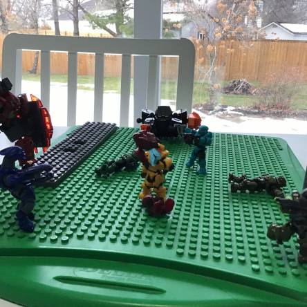 Battle for the baseplate