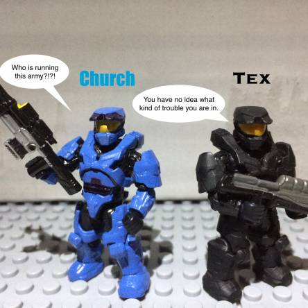 Red Vs Blue customs (CE Edition)