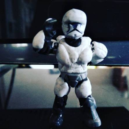 Star Wars custom clone commando