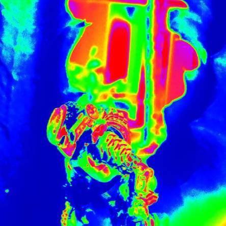 Thermal vision active