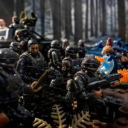 Tactical Retreat Diorama