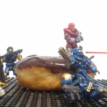 The Battle for the Donut