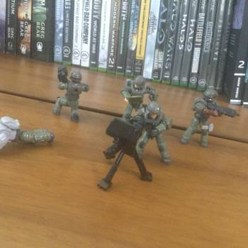 The halo UNSC marine pack