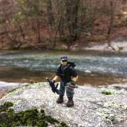 Out for a hike.