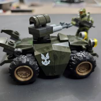 Master chief's new toy.