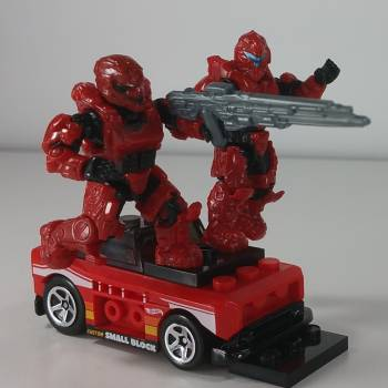 Halo Red Team's Car in the pocket