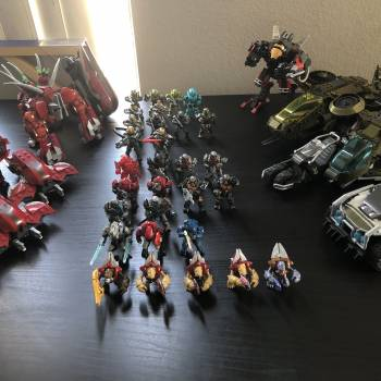 My Halo wars 1 and 2 collection