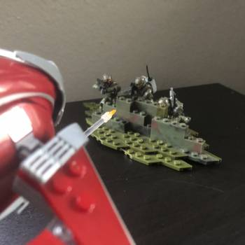 Small diorama and one question