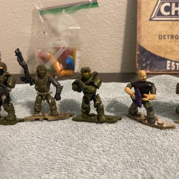 Custom Halo Ce Marines and weapons