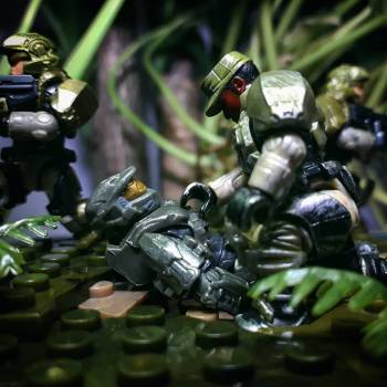 """HALO 3 """"We're not living him here"""""""