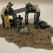 UNSC outpost diorama