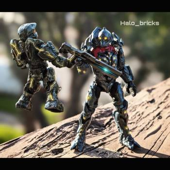 Master Chief vs the Didact!
