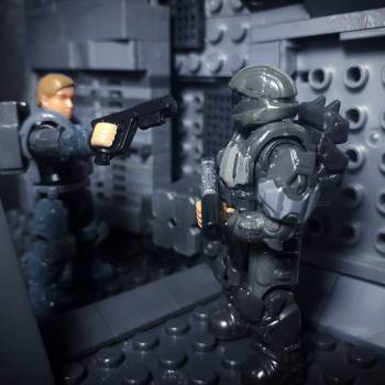 """HALO 3 ODST   """"It's you. I thought... never mind"""""""