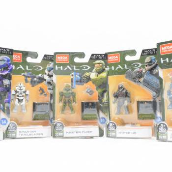 Mega Construx Halo Heroes Series 14 Review
